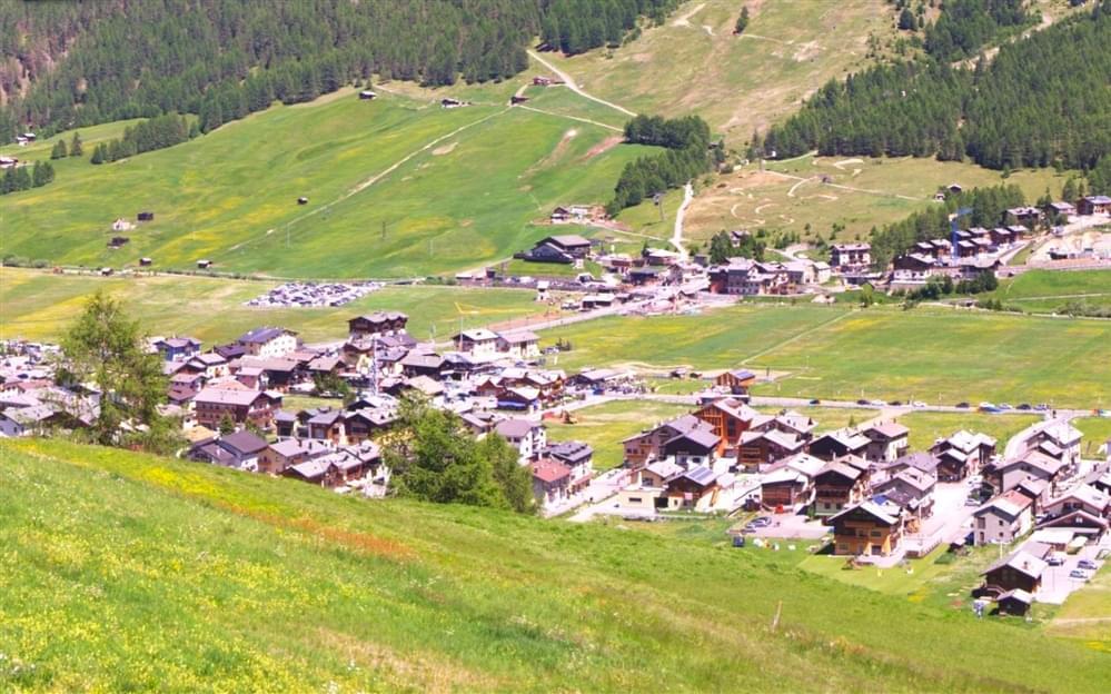 Webcam centro Livigno