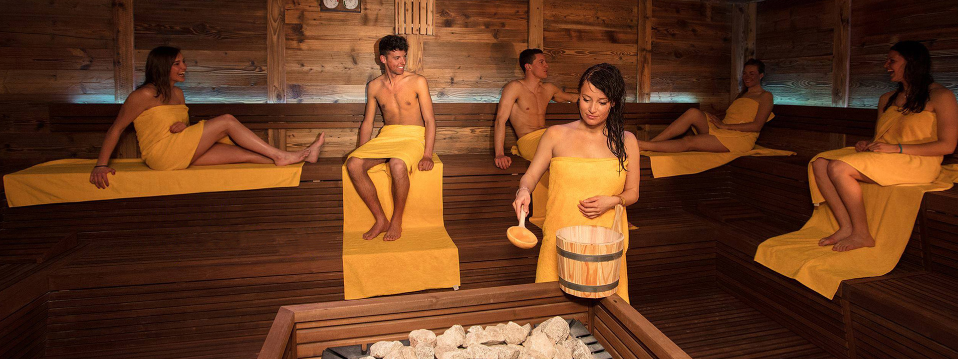 Sauna dell'Aquagranda a Livigno
