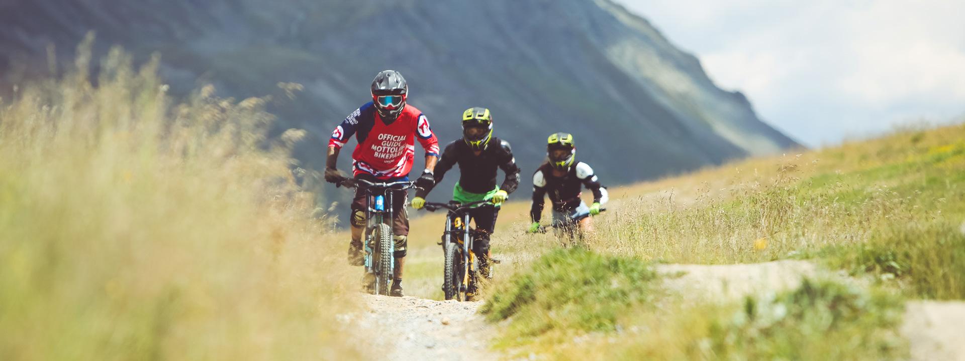 Percorso Blu di Mottolino Bikepark a Livigno