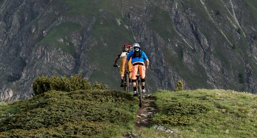 Tour con la MTB sui sentieri delle Alpi di Livigno