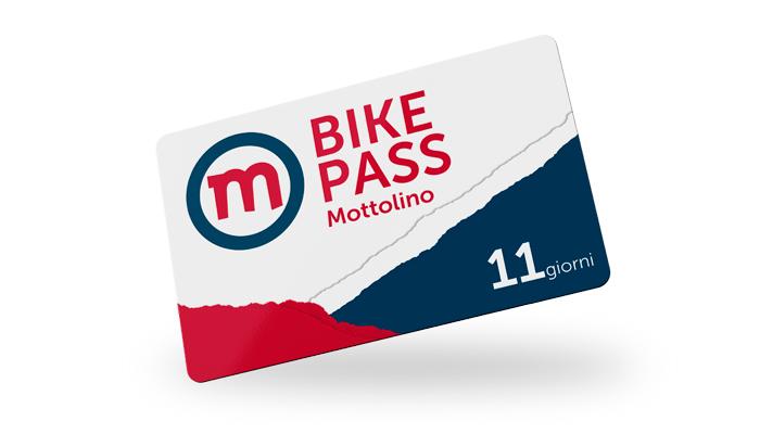 Bikepass Bikepark Mottolino 11 giorni