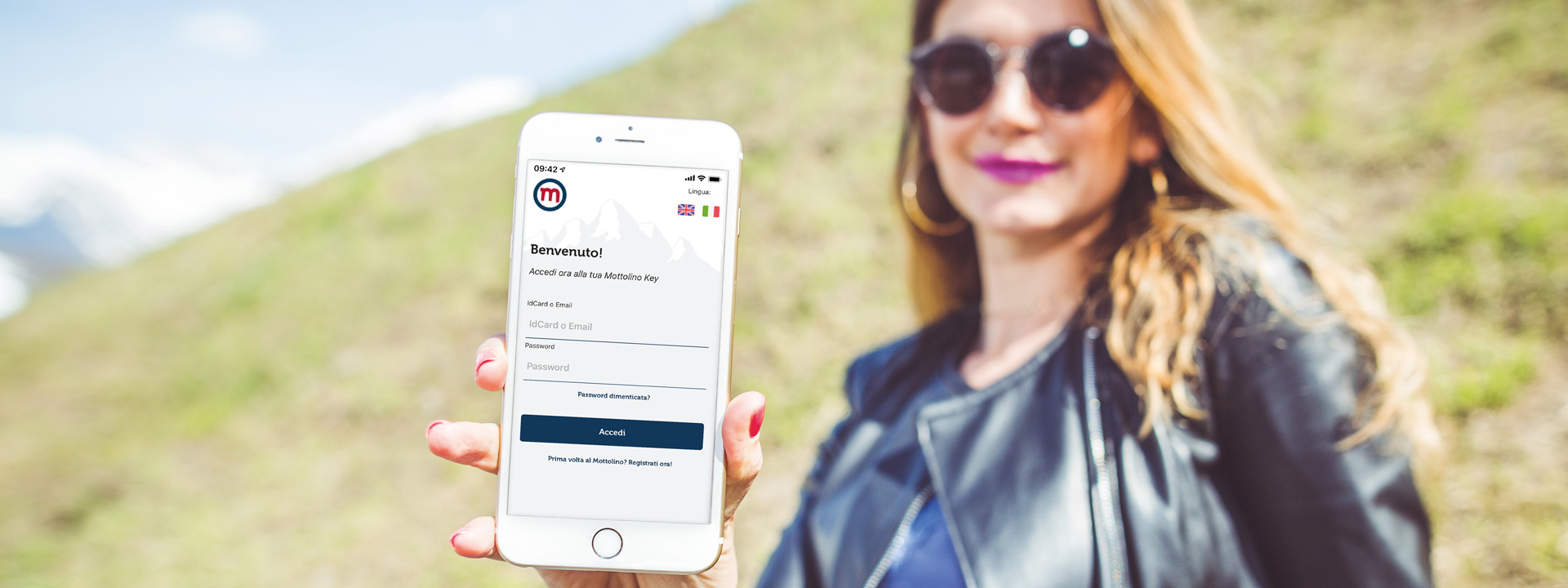 Mottolino App ricevi sconti e benefit immediati
