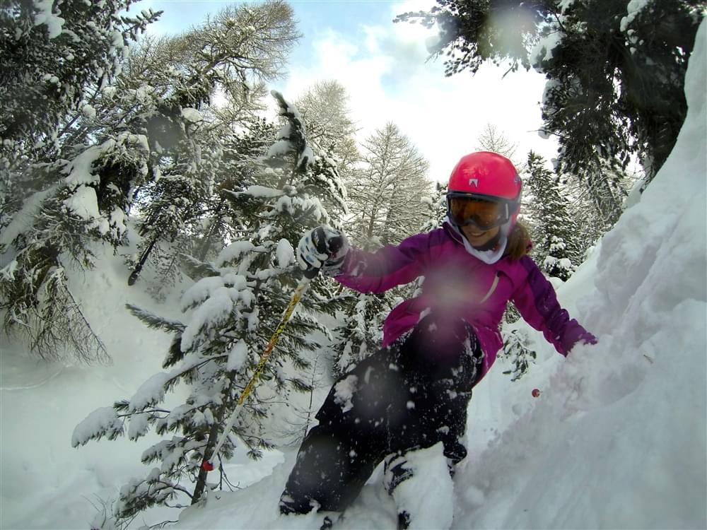 GoPro shot winter