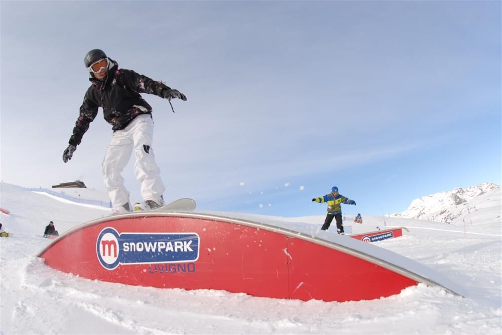 Snowboard camp Livigno