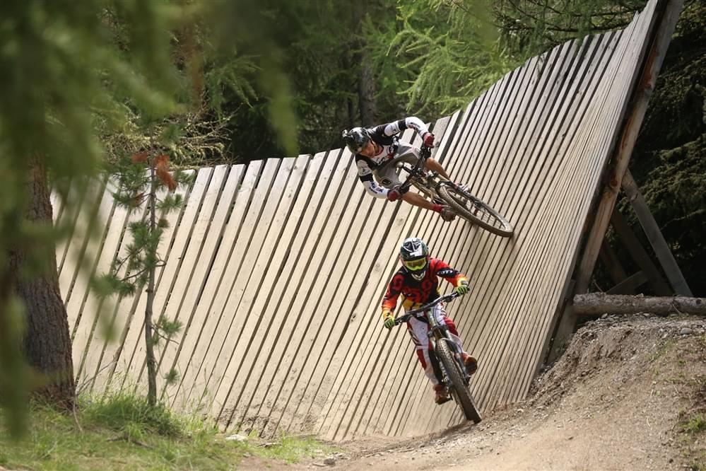 Wallride bikepark Livigno