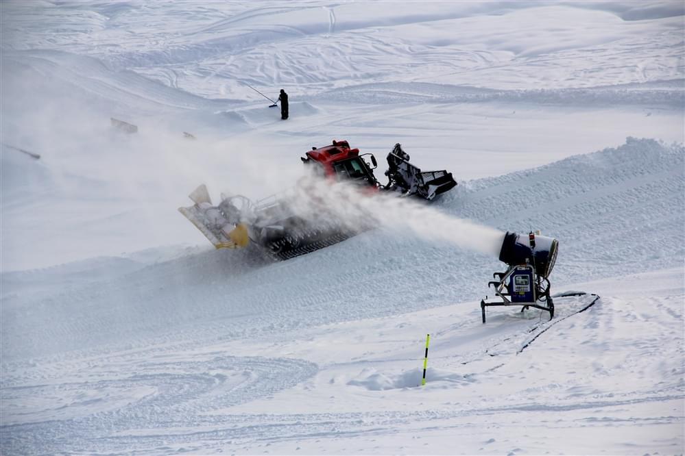 Livigno snowpark opening