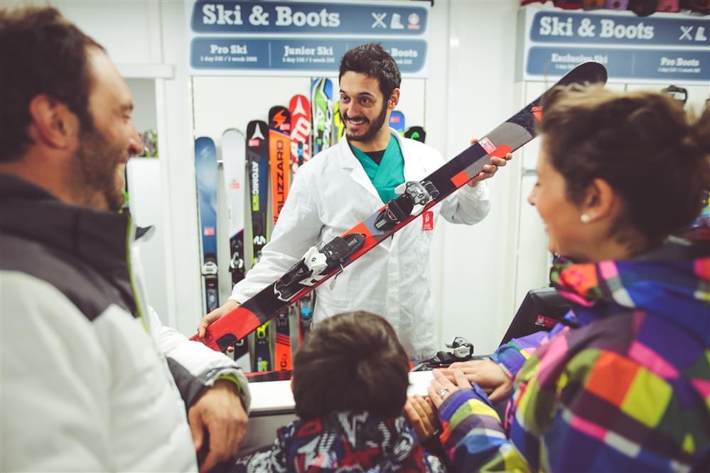 Ski rental Livigno