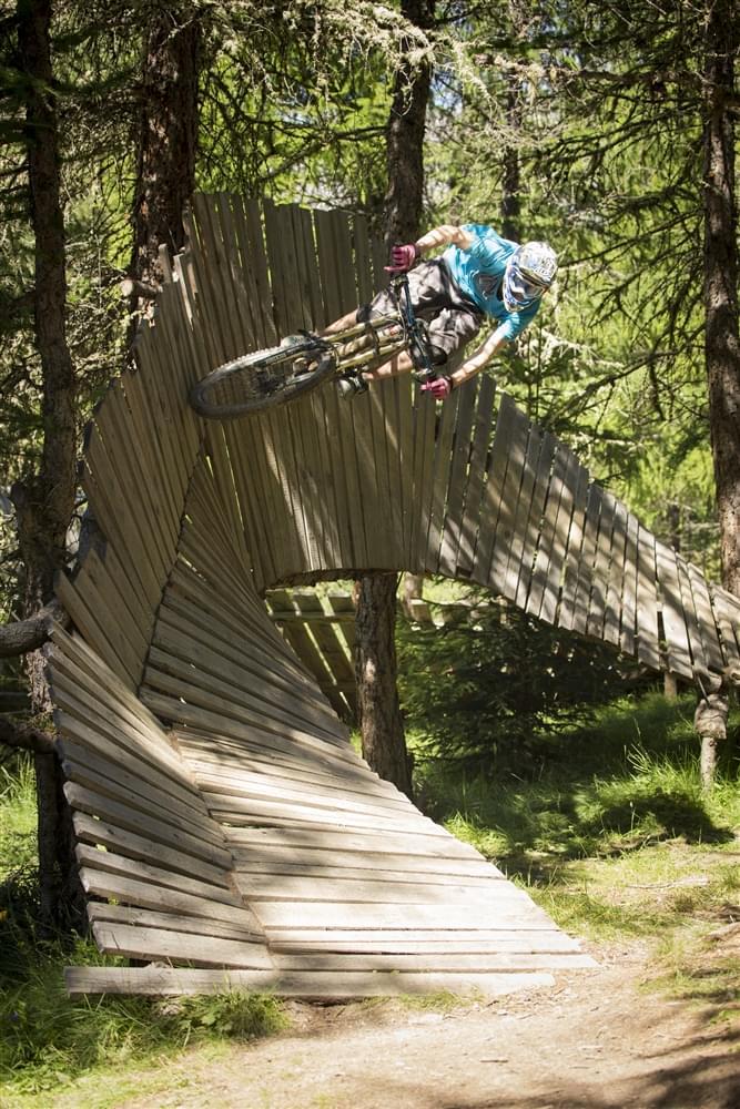 Bikepark Livigno wallride