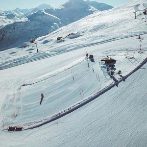 Parte del Campo Scuola della Ski Area Mottolino a Livigno