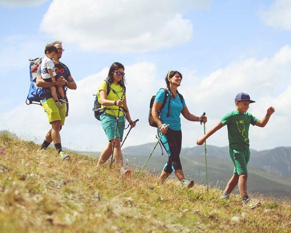 Passeggiata in quota al Mottolino di Livigno con tutta la famiglia