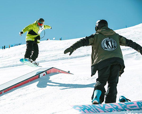 Scuola sci e snowboard Freestyle top