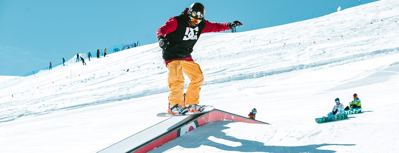 Snowpark Riders Esperti Middle